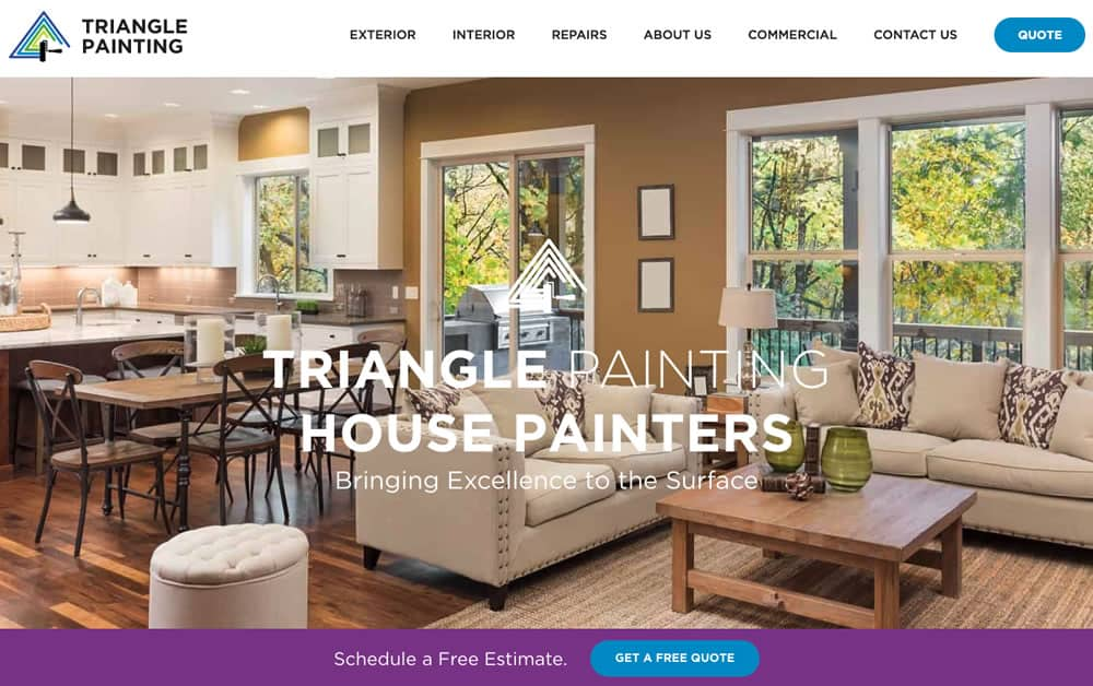 Painters In Raleigh Nc House Painting Raleigh Triangle Painting